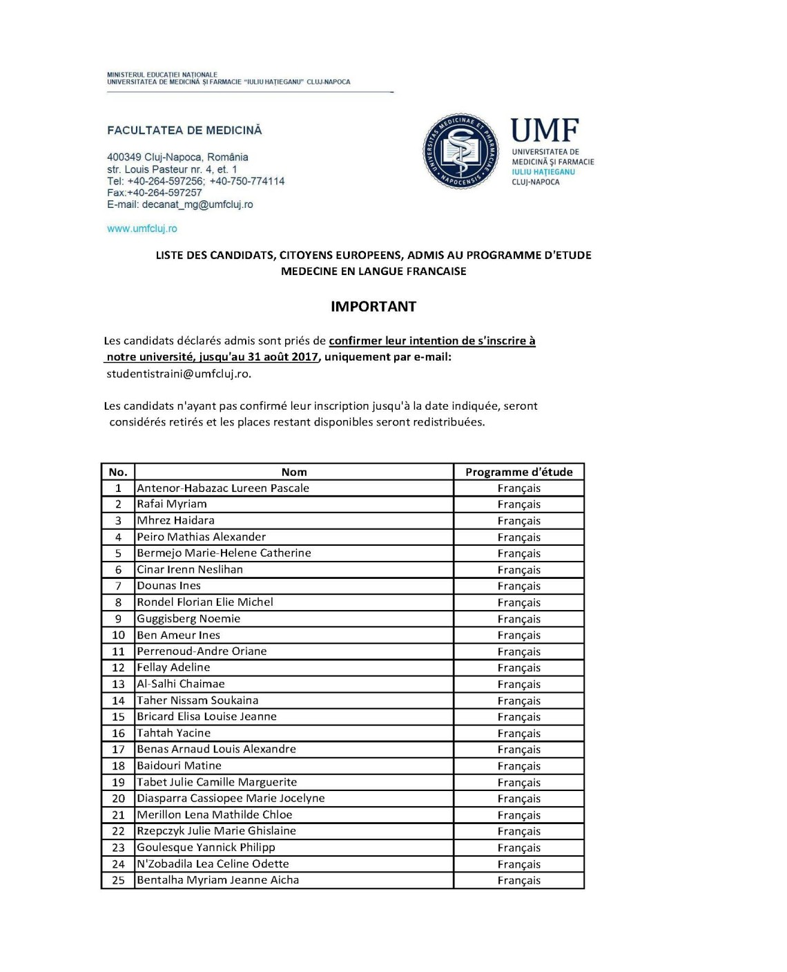 studenti UE ammessi medicina 2017 2018 francese_Pagina_1